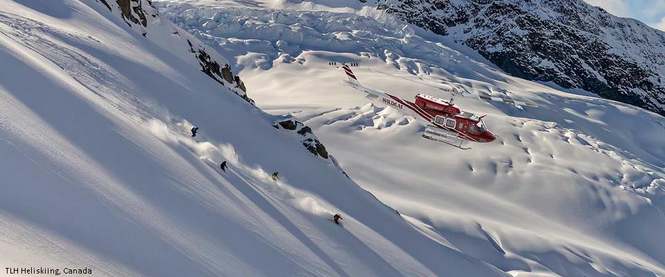 хели-ски Канада Британская Колумбия